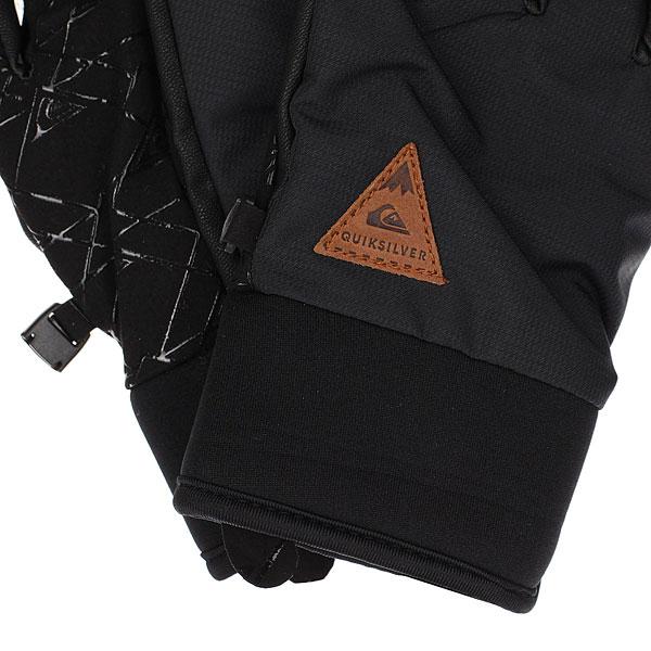 Перчатки детские Quiksilver Method Youth Black