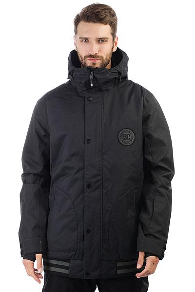 Купить Куртка утепленная DC Shoes Dcla Se Waxed Black, 1188278