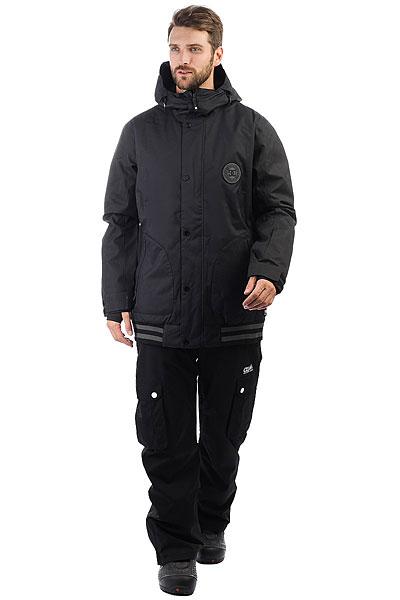 Куртка утепленная DC Shoes Dcla Se Waxed Black
