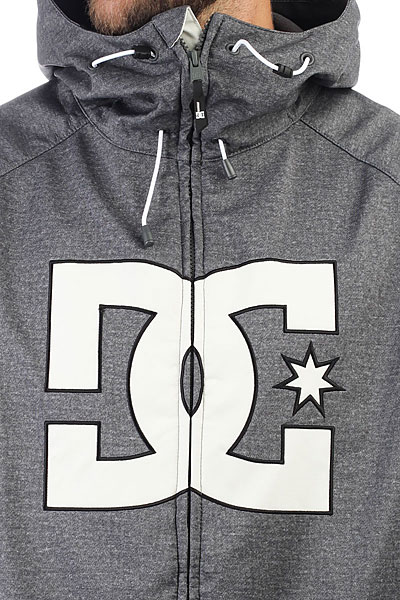 Куртка утепленная DC Shoes Spectrum Dark Shadow Heather