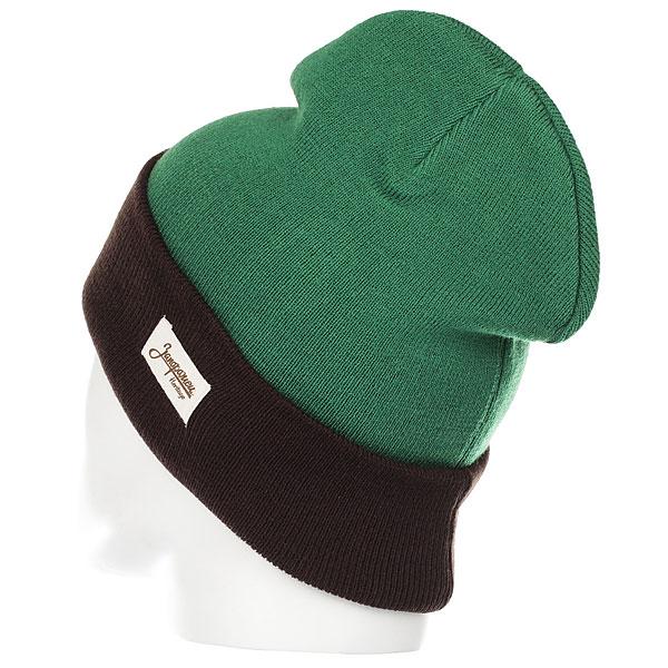 Шапка Запорожец Ditch Dark Green/Brown