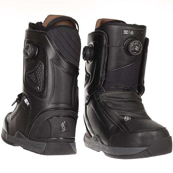 Ботинки для сноуборда DC Shoes Travis Rice Black/Red