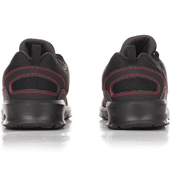 Кроссовки DC Shoes Heathrow Presti Black/Red/Grey