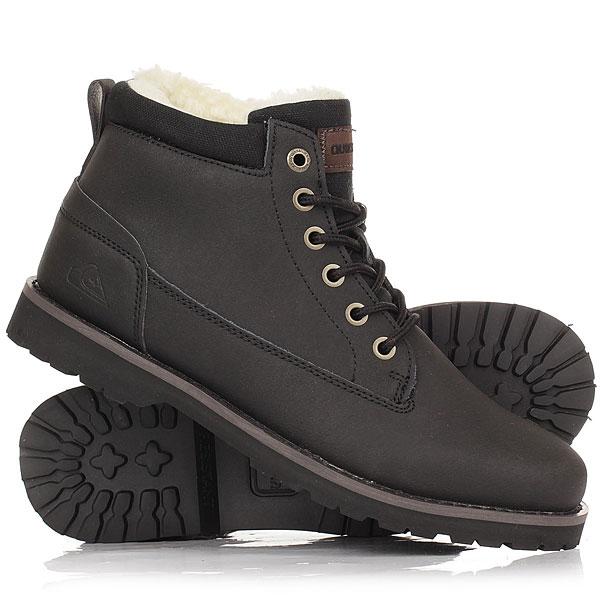 Ботинки зимние детские Quiksilver Mission V Youth Solid Black