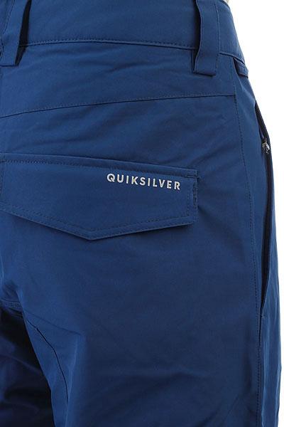 Штаны сноубордические Quiksilver Porter Estate Blue