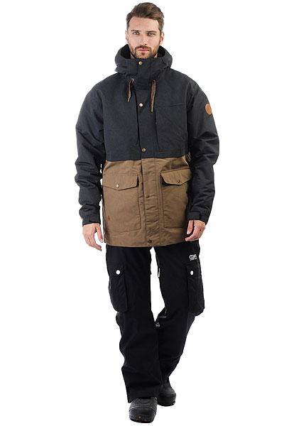 Куртка утепленная Quiksilver Horizon Black