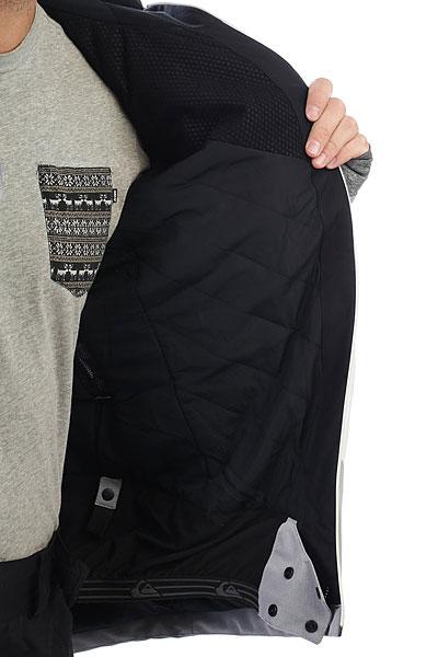 Куртка утепленная Quiksilver Stencil Snow White