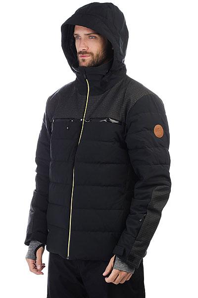 Куртка утепленная Quiksilver The Edge Black