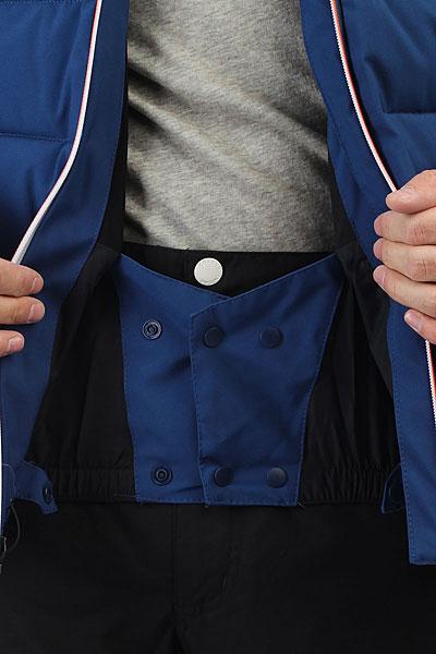 Куртка утепленная Quiksilver The Edge Estate Blue