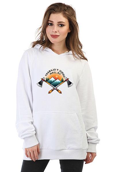 Толстовка Wearcraft Premium женская Mail.ru Chilie_06 Белая