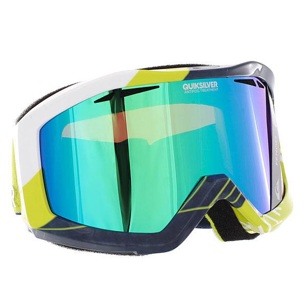 Купить Маска для сноуборда Quiksilver Fenom Vallarta Blue 1188904