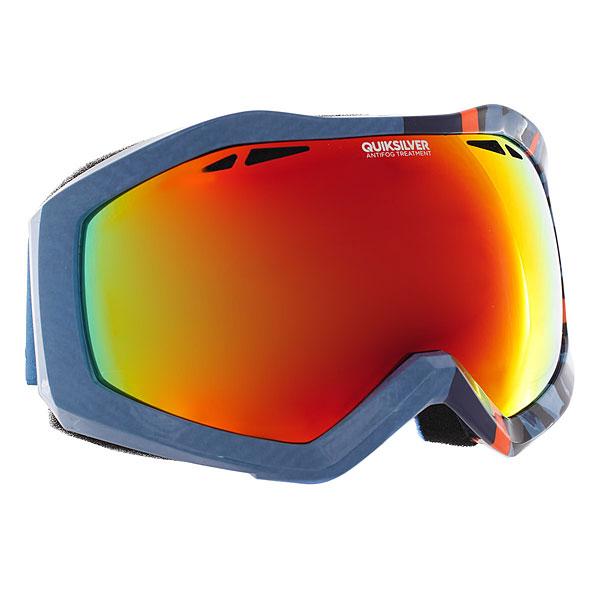 Купить Маска для сноуборда Quiksilver Fenom Art Serie Arkaid Blue 1188905