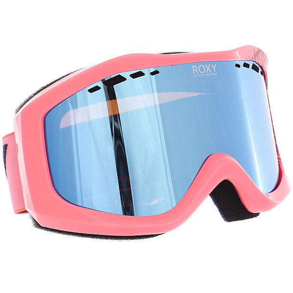 Маска для сноуборда женский Roxy Sunset Pack Sky Blue/Pink