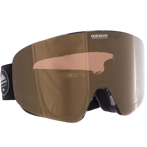Купить Маска для сноуборда Quiksilver Sngg Kvj4 Black Thunderbolts 1188973