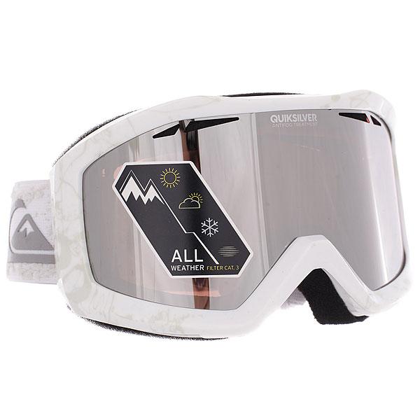 Купить Маска для сноуборда Quiksilver Fenom Pack Snow White 1188975