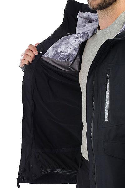 Куртка утепленная Quiksilver Black Alder Black