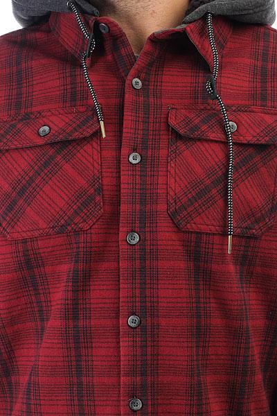 Рубашка утепленная Billabong Curtis Shirt Blood