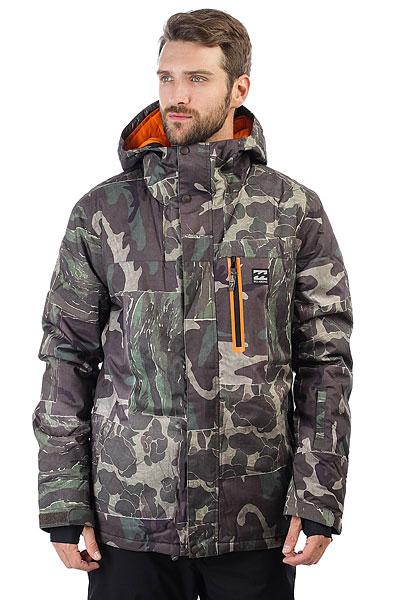 Купить Куртка утепленная Billabong All Day Camo 1189060