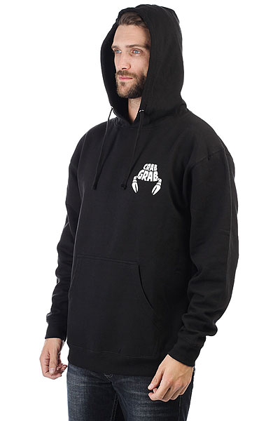 Толстовка классическая Independent Crab Grab Worlds Best Hoody Black