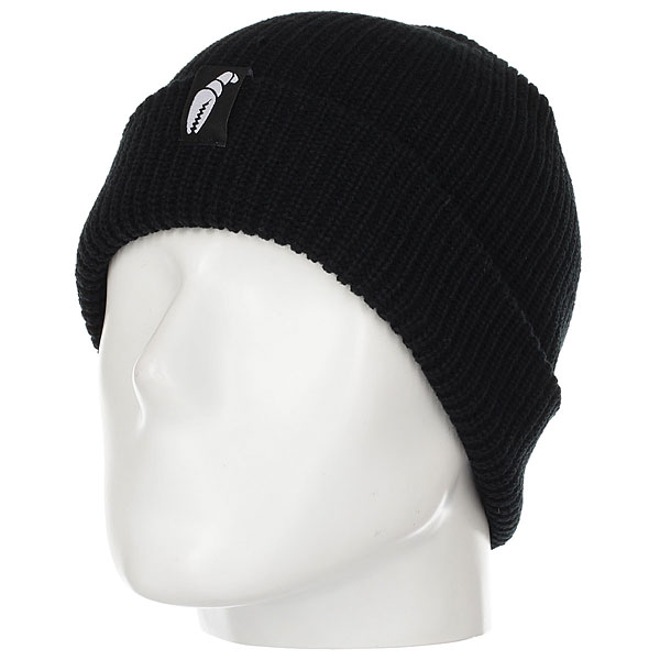 Шапка Crabgrab Claw Label Beanie Black