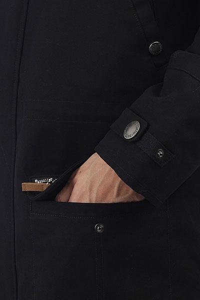 Куртка парка Запорожец Alaska Black
