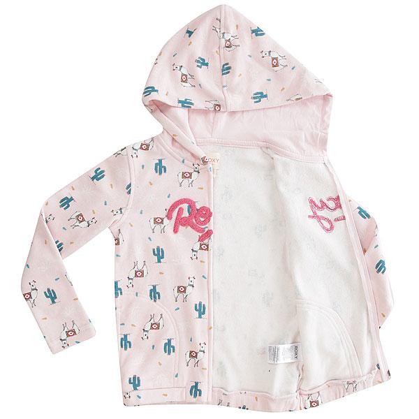 Толстовка классическая детская Roxy Letgetlost Rose Quartz Peru Tra
