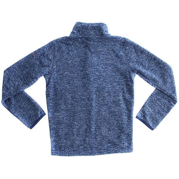 Толстовка классическая детская Quiksilver Butt Yout Fleec Estate Blue