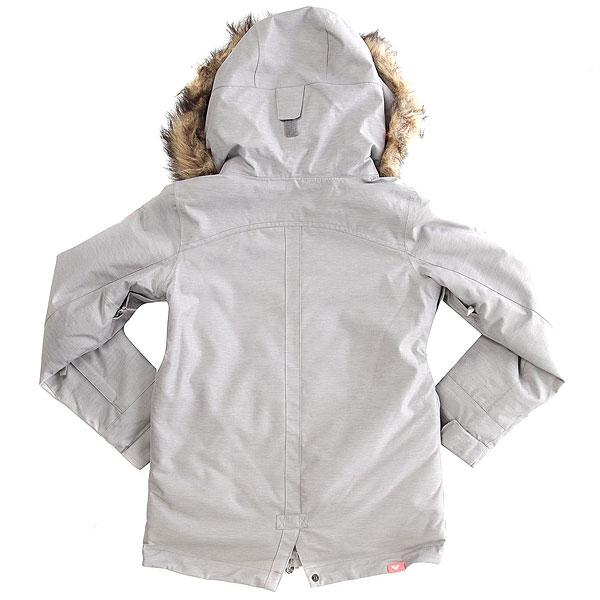 Куртка утепленная детская Roxy Tribe Girl Heritage Heather