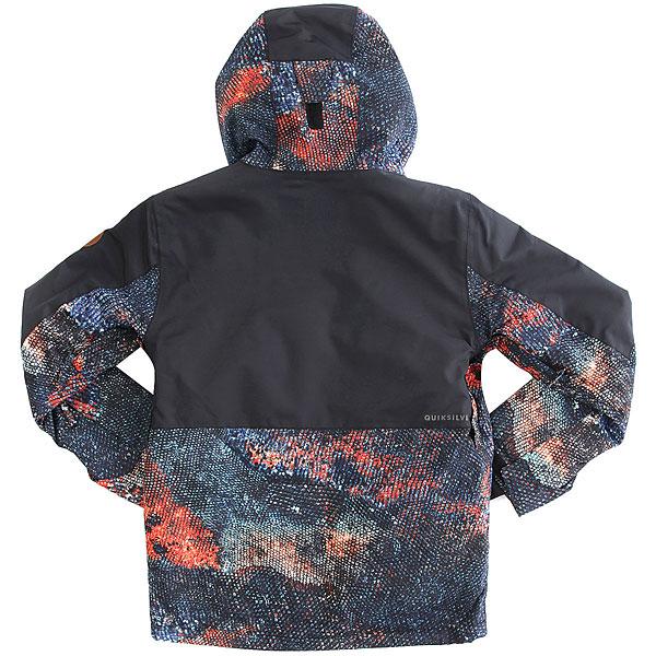 Куртка утепленная детская Quiksilver Tr Ambit Marine Iguana Real