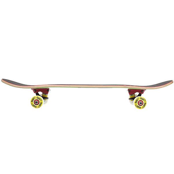 Скейтборд в сборе детский детский Юнион Horse Green/Yellow 28 x 7 (17.8 см)