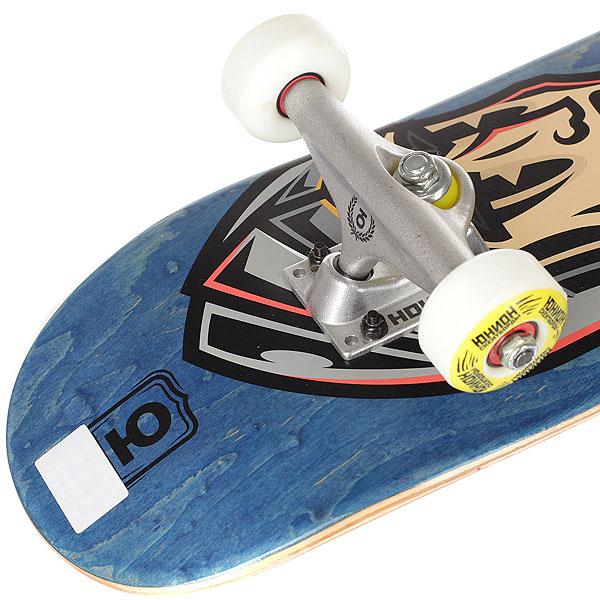 Скейтборд в сборе детский детский Юнион George Blue/Red 28 x 7 (17.8 см)