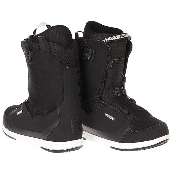Ботинки для сноуборда Deeluxe Real Alpha Black
