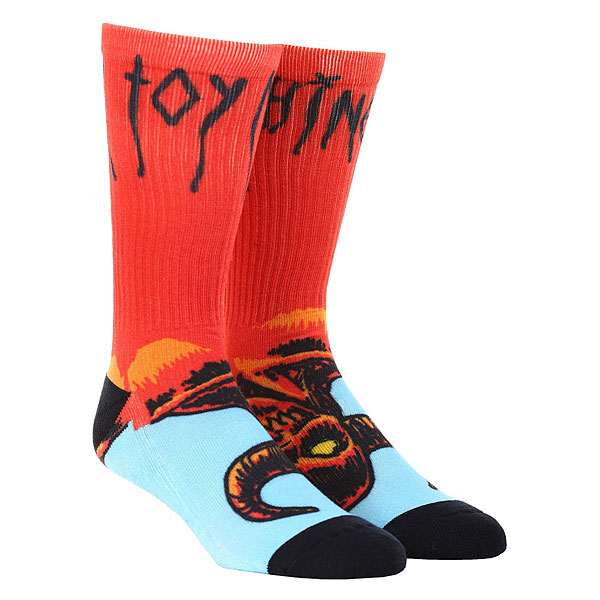 Носки средние Toy Machine Hell Monster Sock Multicolor