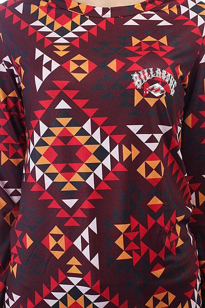 Термобелье (верх) женское Billabong Warm Up Tech Navajo Red