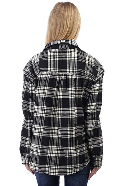 Рубашка в клетку женская Billabong Wander Warrior Black/Whitecap