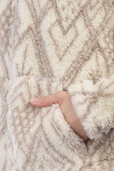 Толстовка утепленная женская Billabong Smooth Love White Cap