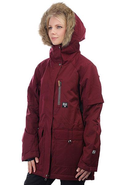Куртка утепленная женская Billabong Keila Mystic Maroon