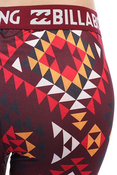 Термобелье (низ) женское Billabong Warm Up Tech Navajo Red