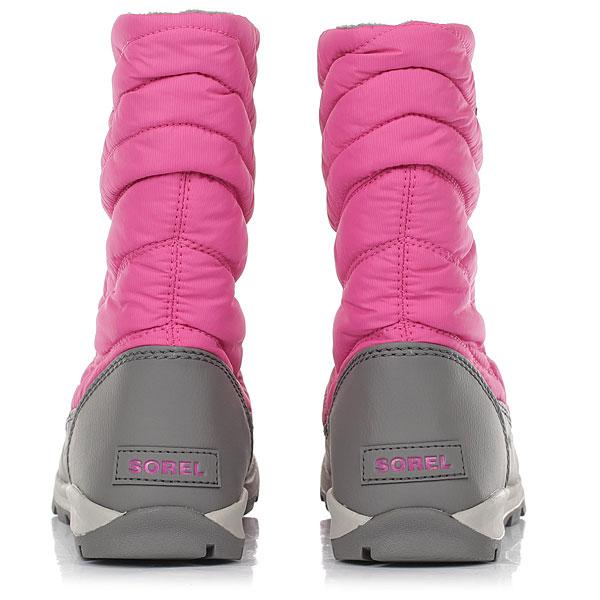 детский Sorel Youth Whitney Mid pink Ice Quarry
