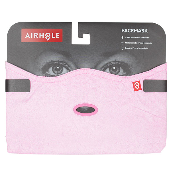 Маска женская Airhole Facemask 2 Layer Pink Wash