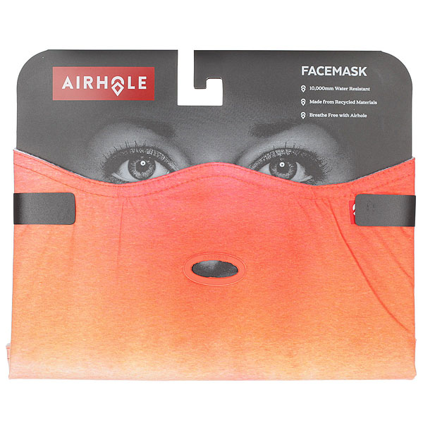 Маска Airhole Facemask 2 Layer Orange Wash