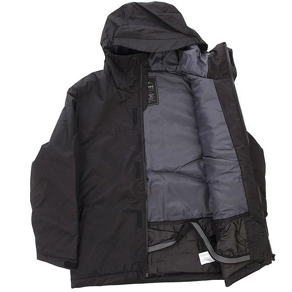 Куртка утепленная детская Billabong All Day Solid Black