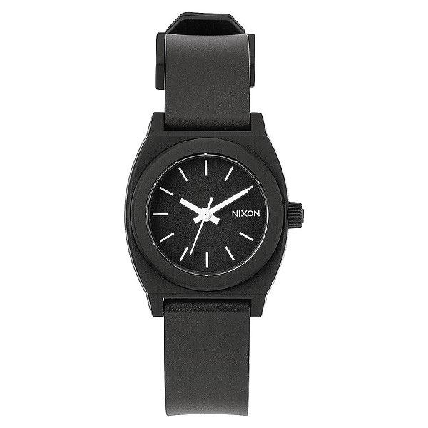 Кварцевые часы Nixon Small Time Teller P Black