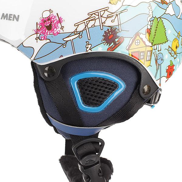 Шлем для сноуборда детский Quiksilver The Game Fun Times