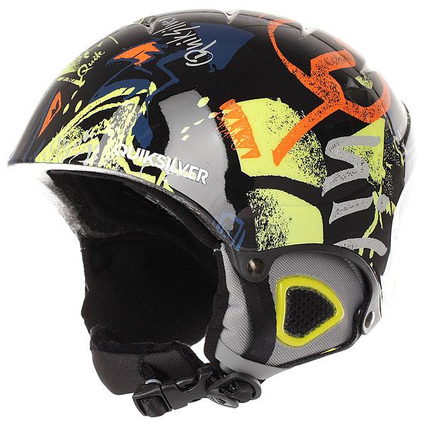 Шлем для сноуборда Quiksilver Game Pack Black Thunderbolt