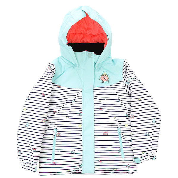 Куртка зимняя Roxy Little Miss Bright White