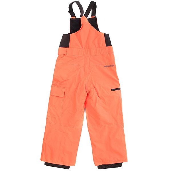 Штаны сноубордические Quiksilver Boogie Kids Shocking Orange