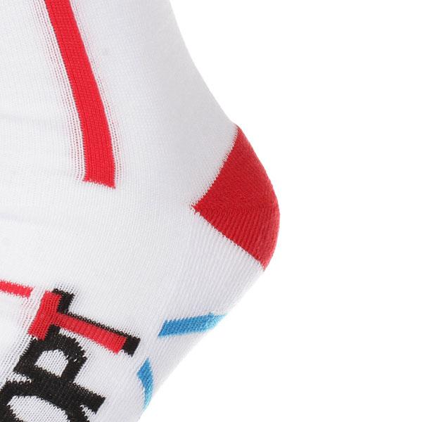 Носки высокие Запорожец Спорт Многоцветные Белый