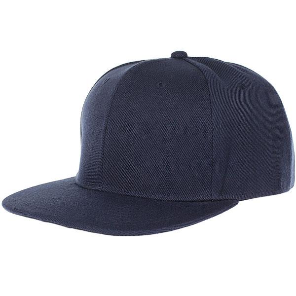 Бейсболка с прямым козырьком TrueSpin Blank Snapback Dark Navy