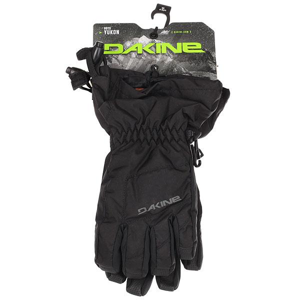Перчатки сноубордические детские Dakine Yukon Glove Black